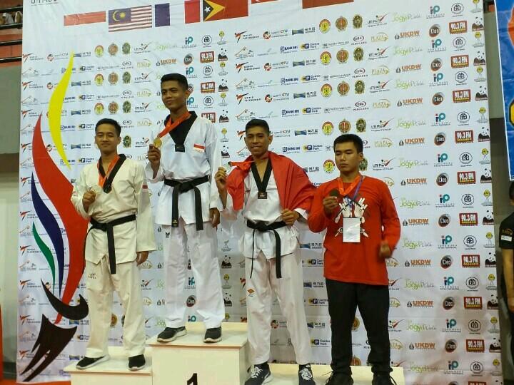 Esau Baker Taekwondowin UPY Raih Perunggu Di Pakualam X International Championship