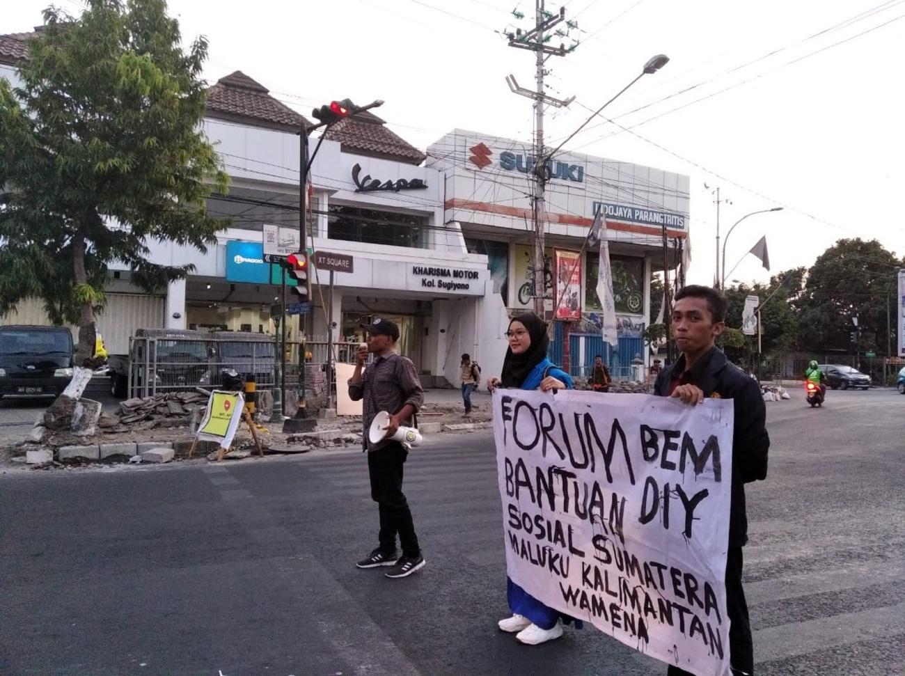 Forum BEM DIY Bersama  Papua, Maluku, Kalimantan dan Sumatera