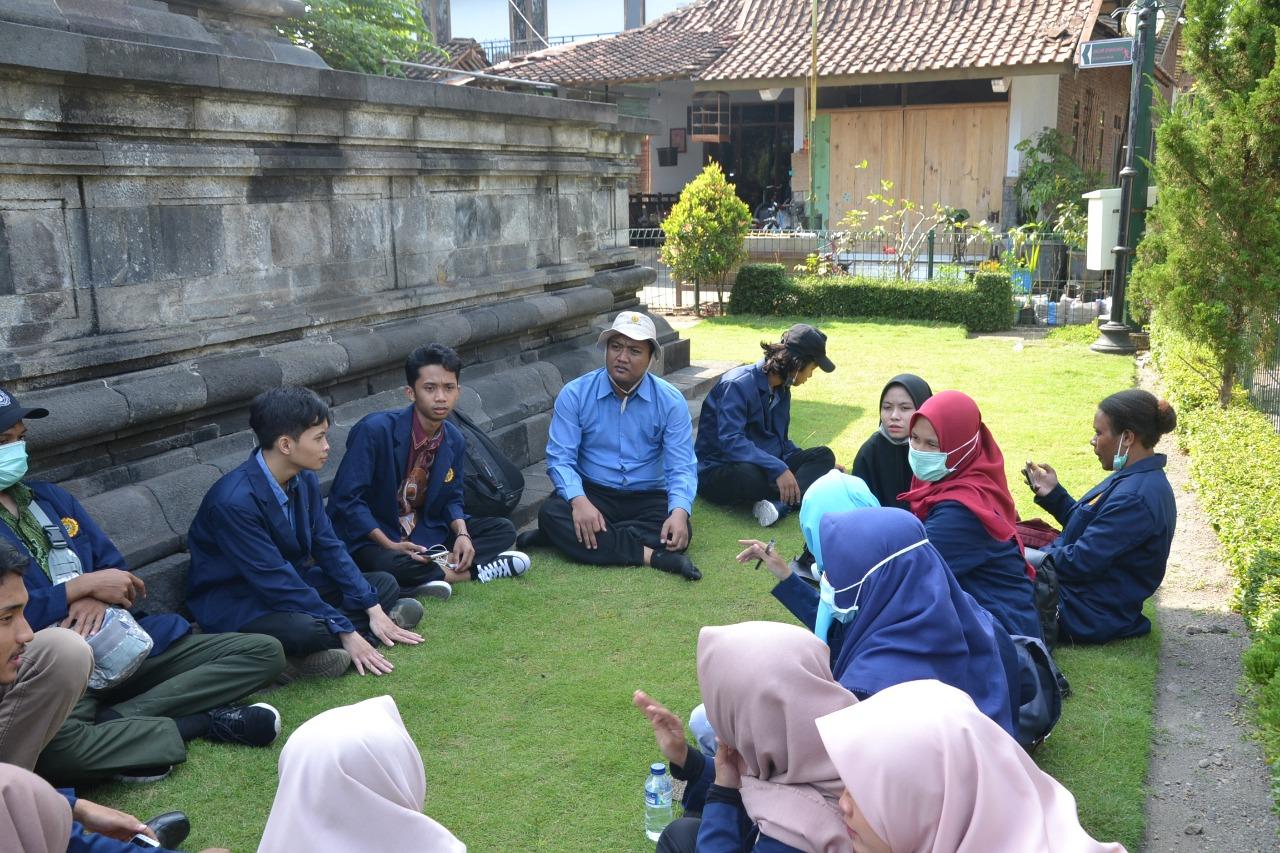 Kajian Mataram Kuno, Mahasiswa Prodi Sejarah Lawatan ke 3 Candi Budha