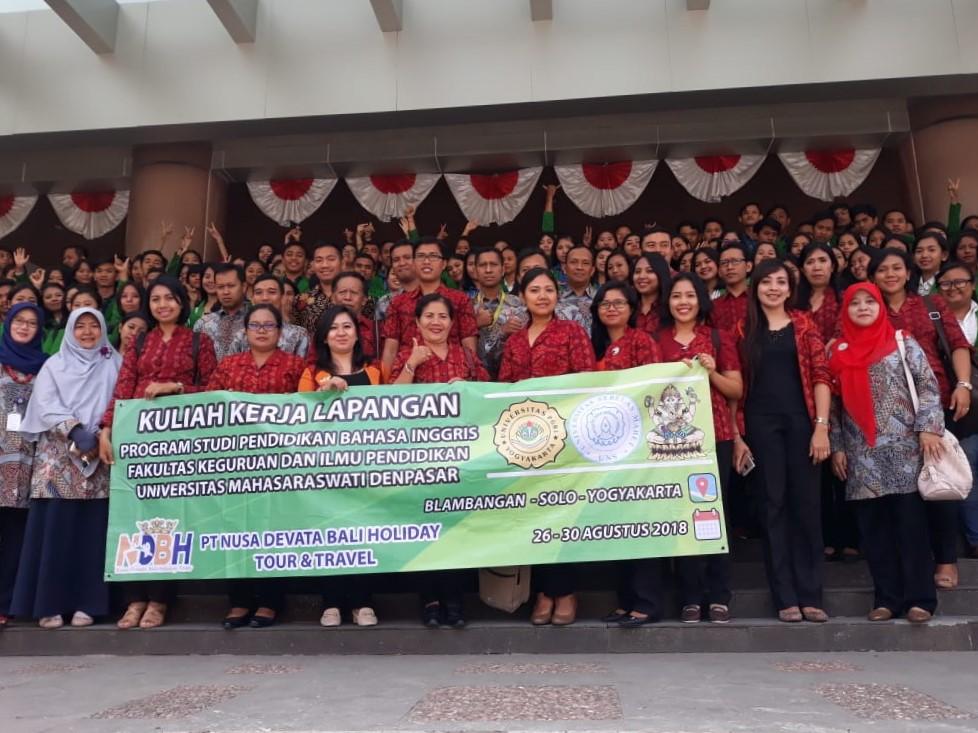 Kunjungan Universitas Mahasaraswati Denpasar di PBI FKIP UPY