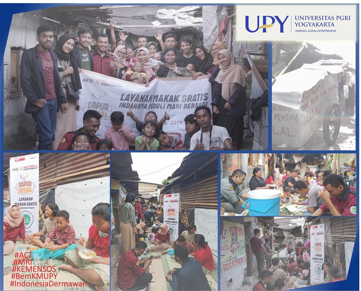 Mahasiswa UPY Buka Dapur Sosial di Kampung El-Sadai