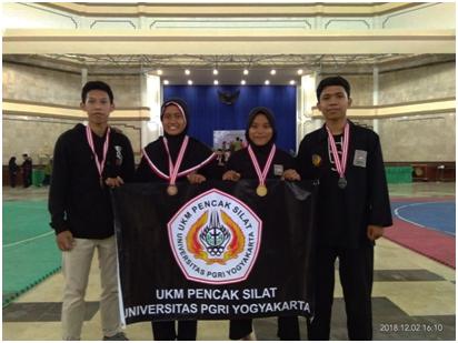 Pencak Silat UPY Sabet Medali Emas