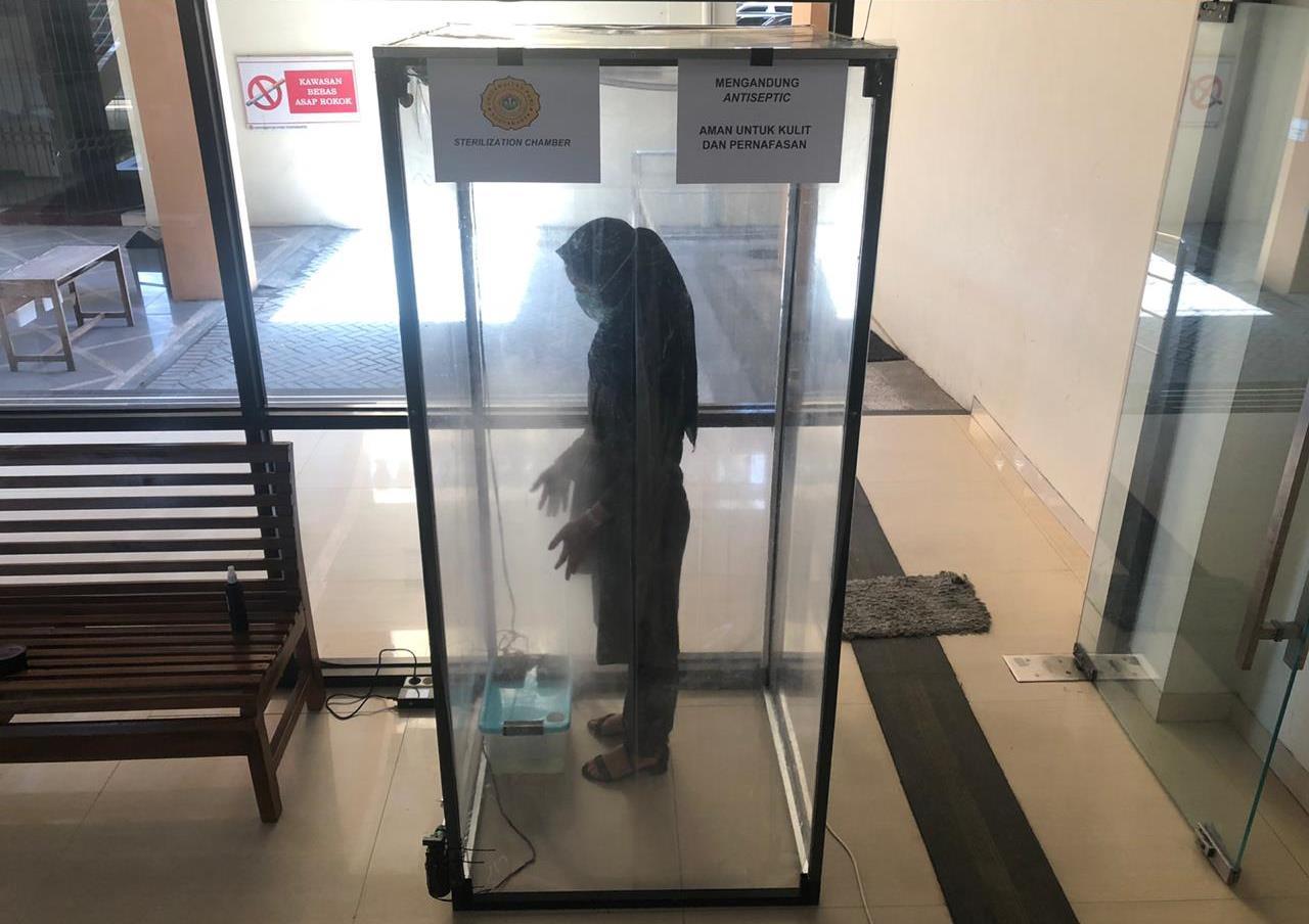 Putus Matarantai Penyebaran Covid-19, FKIP UPY Kembangkan Sterilization Chamber