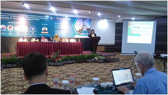 UPY BERSAMA ISAT-U Philippines Menyelenggarakan International Conference