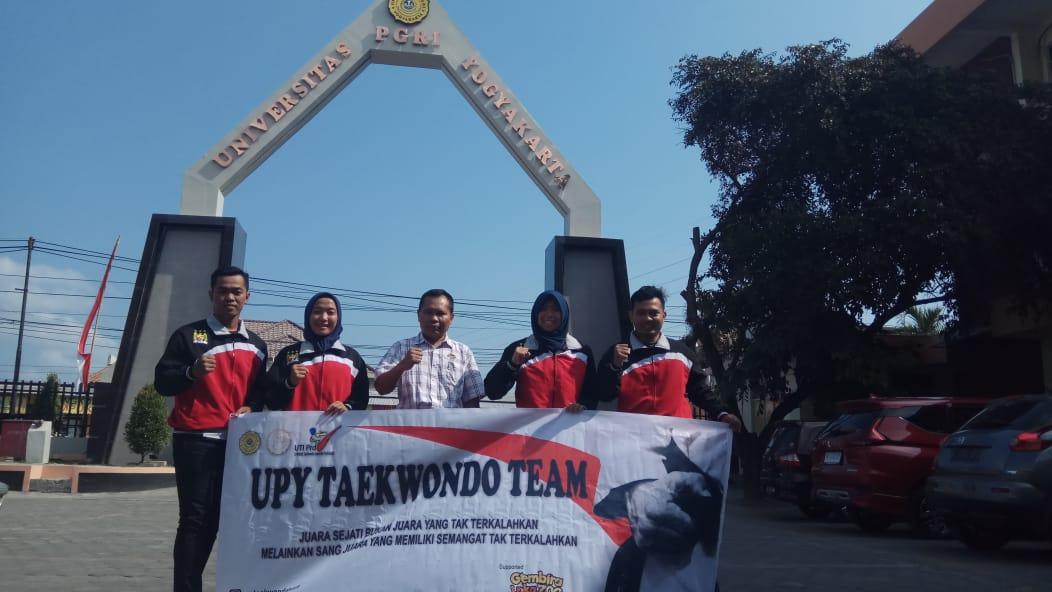 UPY Kirim 3 Atlet Taekwondo ke Malaysia