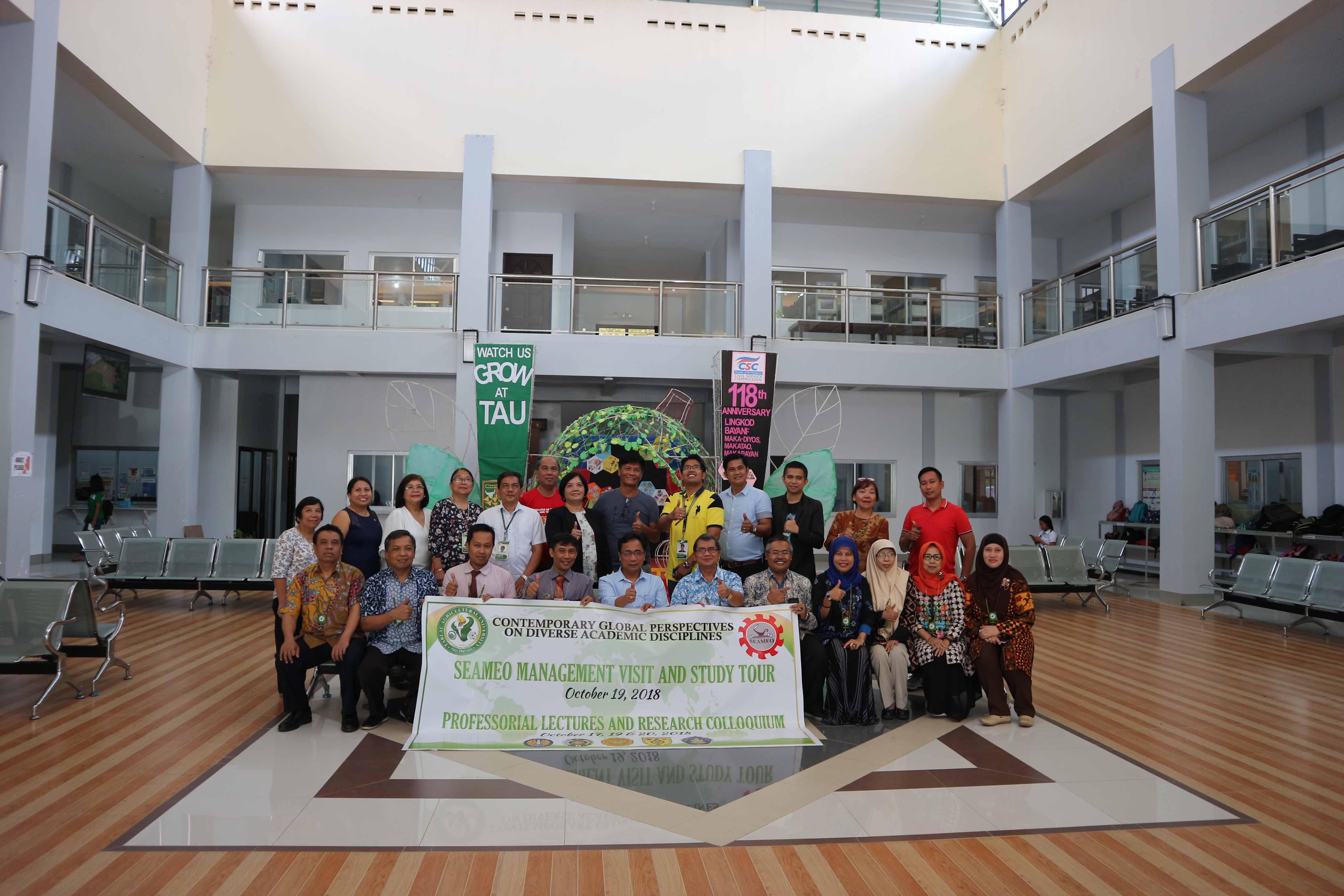 UPY Sepakati Kerjasama dengan Tarlac Agricultural University, Filipina