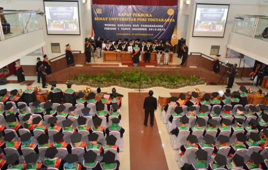 Wisuda UPY, Kesuksesan Berbanding Lurus dengan Usaha